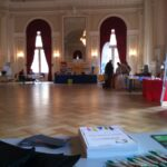 Stand d'informations