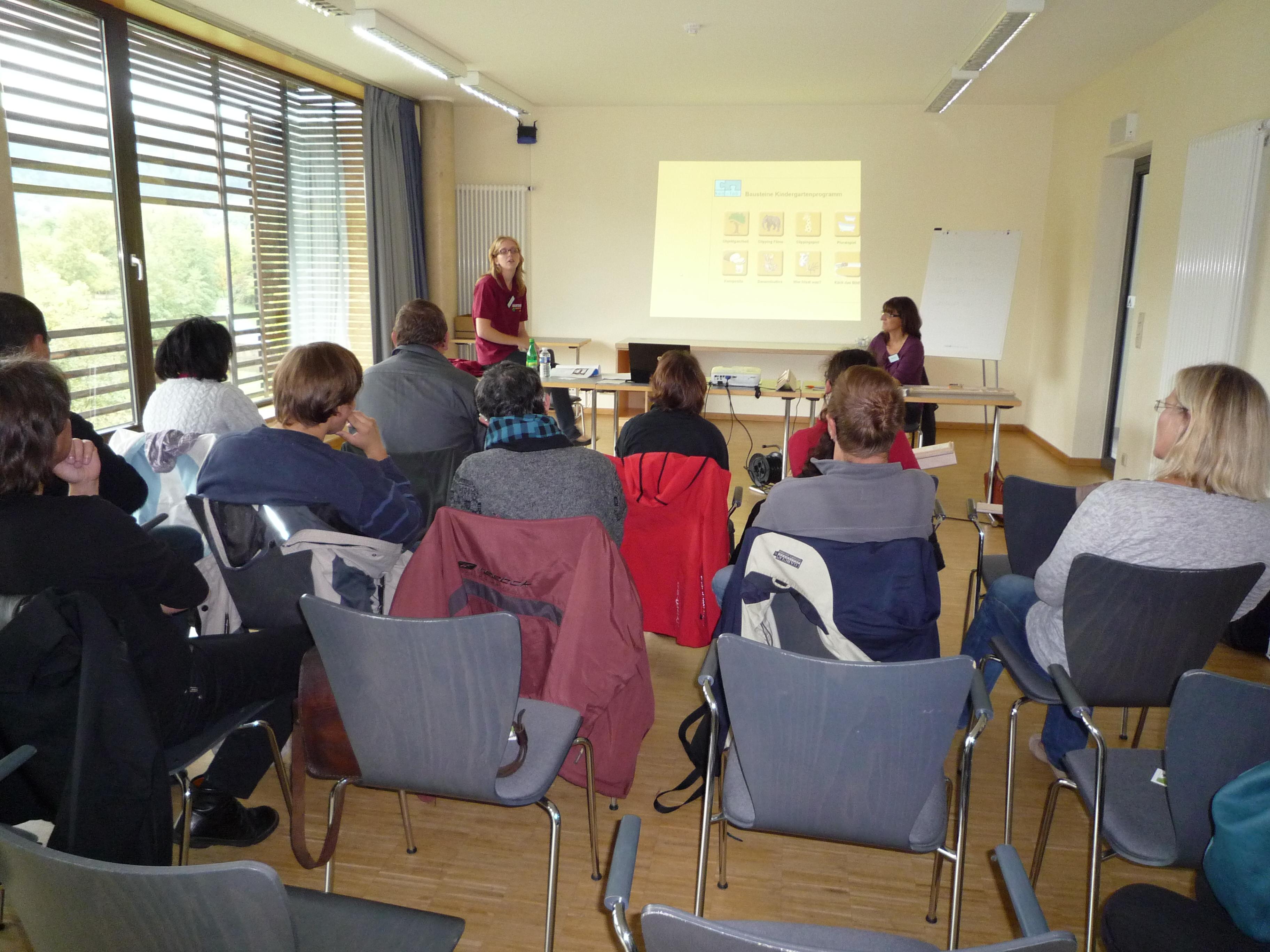 Workshop Sprachbehinderung