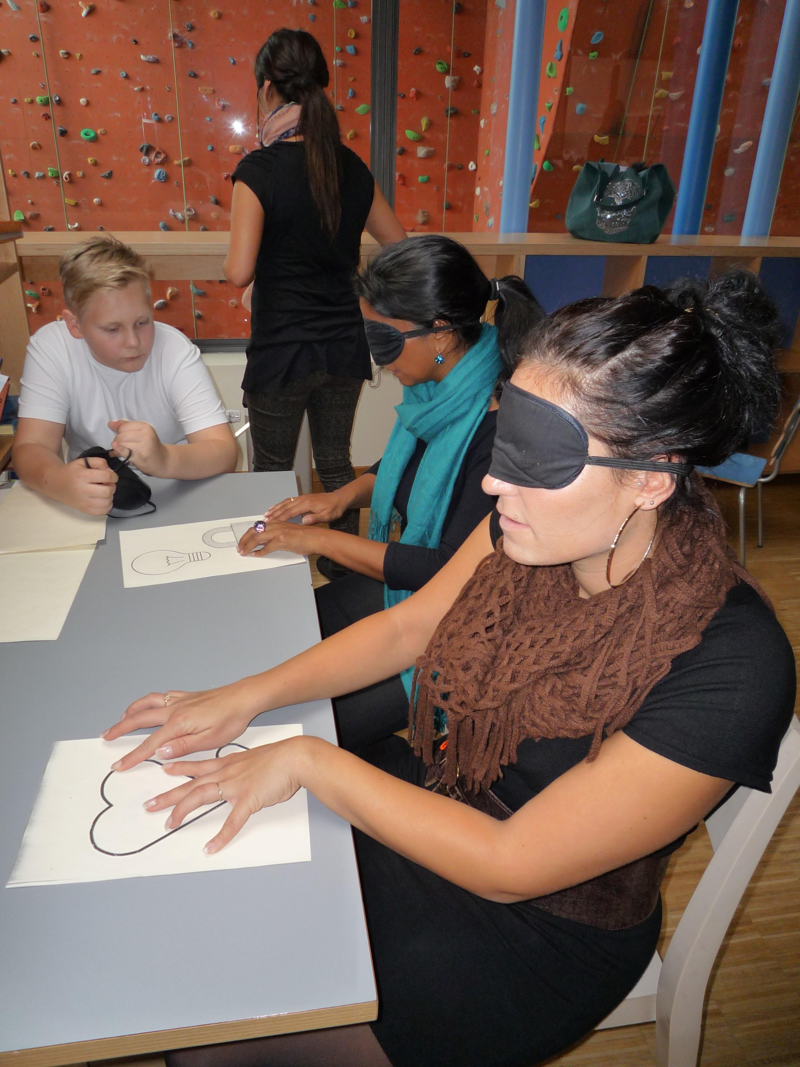 Workshop Sehbehinderung