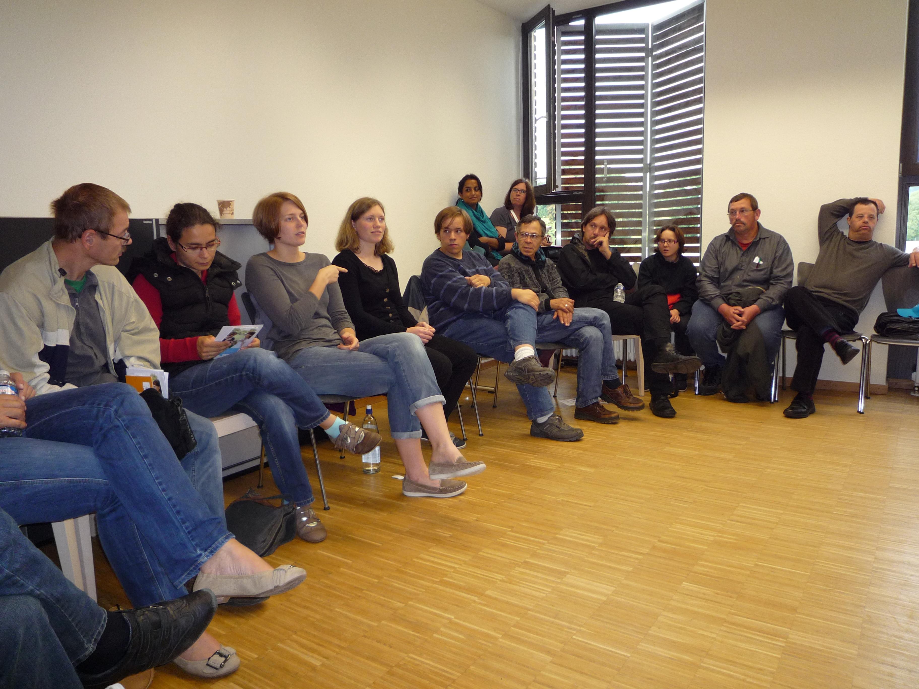 Workshop Hörbehinderung